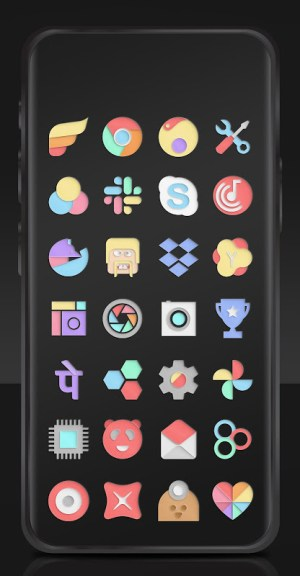 Paper Cut Icon pack New 1.0.13 Screen 2
