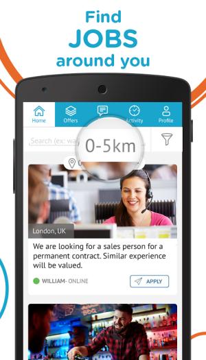 CornerJob - Find job offers 1.4 Screen 5