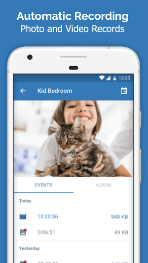 Cawice - Free Home Security Camera App for Android 1.4 Screen 5