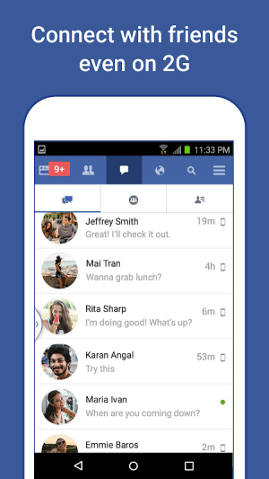 Facebook Lite 153.0.0.7.129 Screen 2