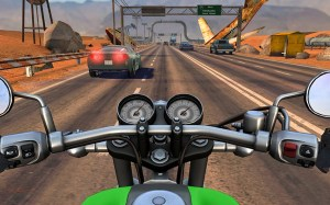 Android Moto Rider GO: Highway Traffic Screen 21