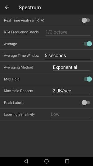 Audizr - Spectrum Analyzer 0.9.8 Screen 7