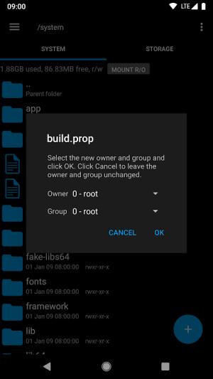 Root Explorer 4.10.1 Screen 6