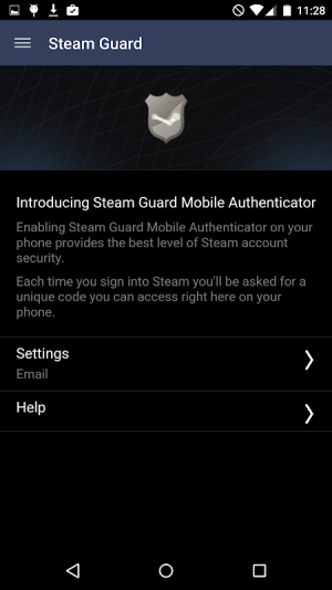 Android Steam Screen 3