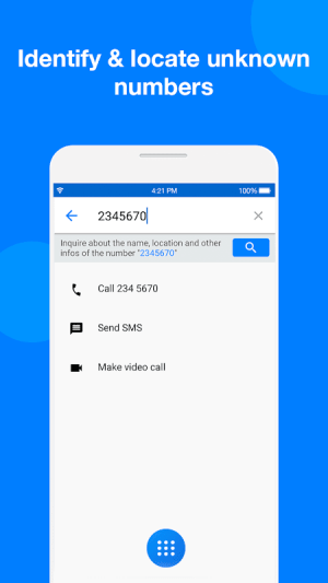 Android Caller ID  & Call Blocker Free Screen 3