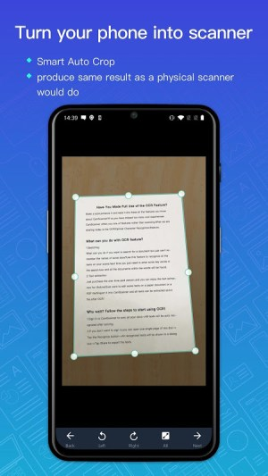 Android CamScanner - Scanner to scan PDF Screen 5