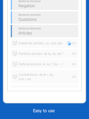 Dr French, French grammar 1.0.10 Screen 5