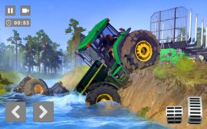 Android Cargo Tractor Trolley Simulator Farming Game 2020 Screen 3