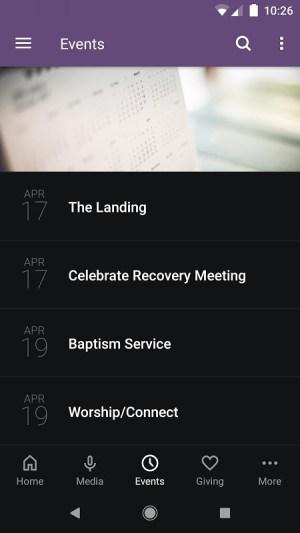 Longview Point Baptist Church 5.12.0 Screen 2