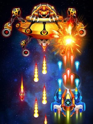 Space shooter - Galaxy attack - Galaxy shooter 1.407c Screen 14