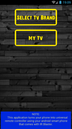 TV Remote Control - All TV 1.0.0 Screen 1