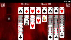 Android Miss Milligan Solitaire Screen 1