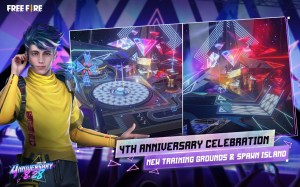 Android Garena Free Fire: 4nniversary Screen 6