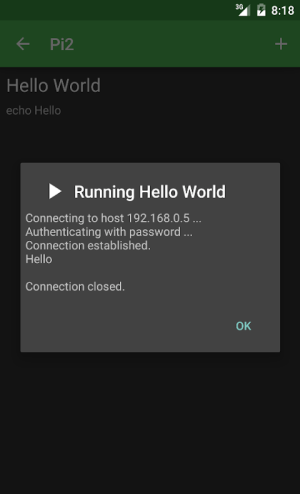 RasPi Check 1.8.12 Screen 4