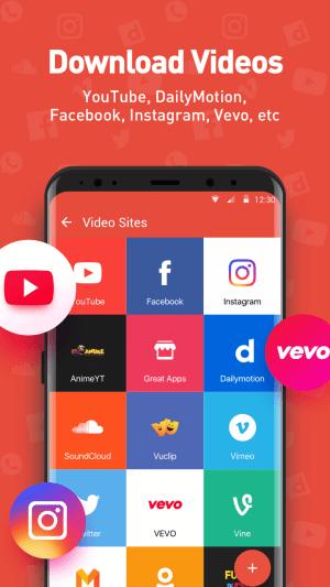 Youtube Video Downloader - SnapTube Pro 4.19.0.8908 Screen 1