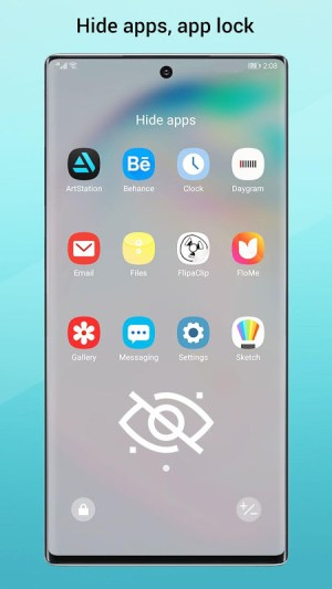 Perfect Note10 Launcher for Galaxy Note,Galaxy S A 2.9 Screen 4