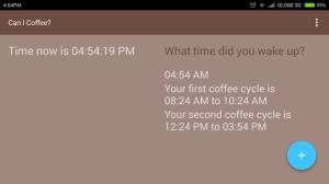 Can I Coffee? 0.1.8 Screen 2