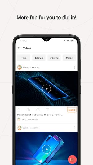 Mi Community - Xiaomi Forum 5.0.4 Screen 1