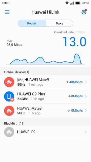 Huawei HiLink (Mobile WiFi) 9.0.1.323 Screen 1