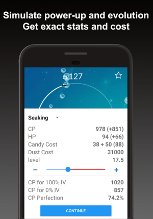 Poke Genie - Safe IV Calculator 4.5.3 Screen 3