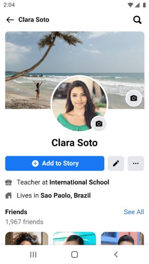 Facebook Lite 268.0.0.5.116 Screen 4