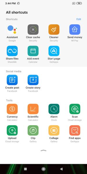 App Vault 11.6.2 Screen 1