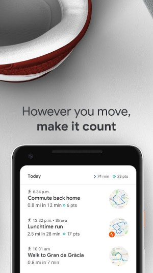 Google Fit: Health and Activity Tracking 2.28.24-130 Screen 3