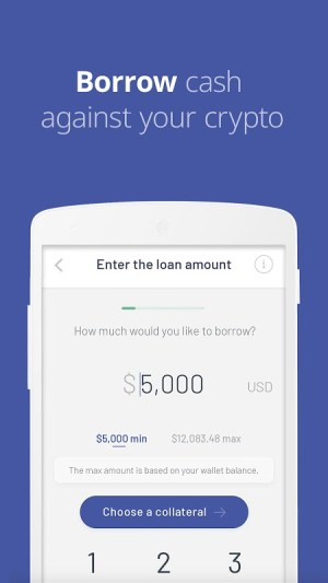 Android Celsius Network – Crypto Wallet: Earn Interest Now Screen 2