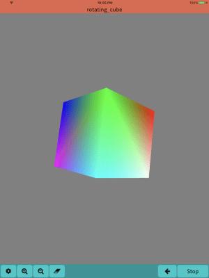 Mobile C ( C/C++ Compiler ) 2.2.5 Screen 9