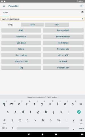 Ping & Net 3.5.2 Screen 5