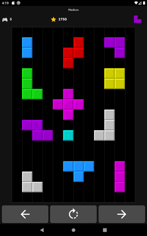 Android Brick Game Screen 13