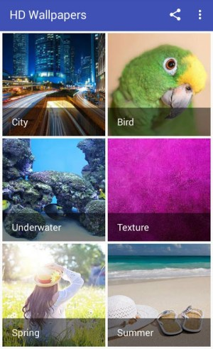 Android HD Wallpapers and Backgrounds Screen 1