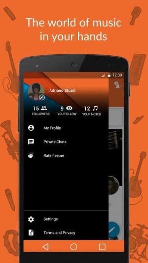 fleeber - Musicians Network 2.8.9 Screen 3