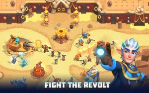 Wild Sky TD: Tower Defence in 3D Fantasy Kingdom 1.31.15 Screen 7