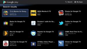 Android Google TV - Google Play Store Screen 2