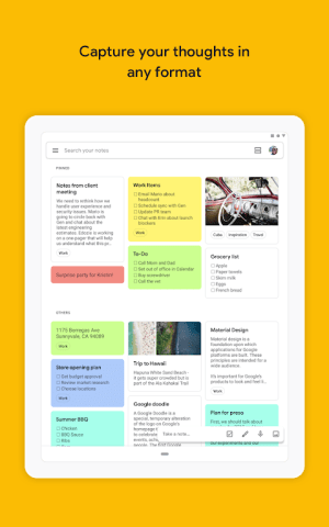 Google Keep - notes and lists 5.20.361.01.30 Screen 10