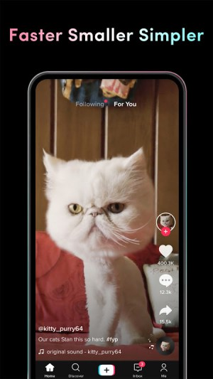 Android TikTok Lite Screen 1