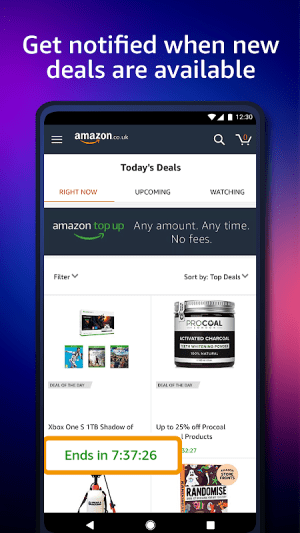 Amazon Shopping 20.1.0.100 Screen 1