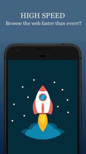 Android Private Browser- Incognito, Ad block Screen 4