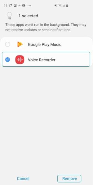 Samsung Voice Recorder 21.2.20.28 Screen 4