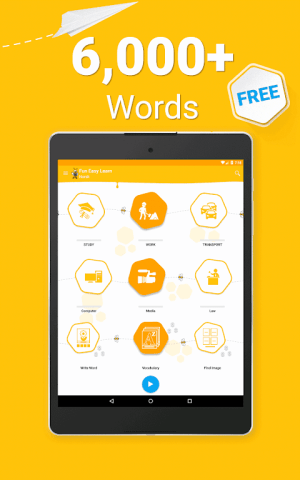 Android Learn Norwegian - 6000 Words - FunEasyLearn Screen 17