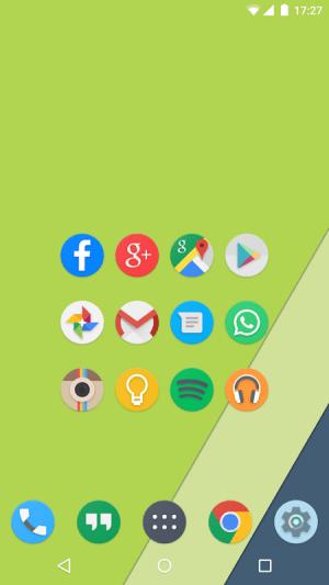Android Kiwi UI Free Screen 1
