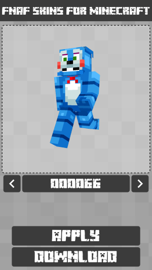 FNAF Skins for Minecraft PE 1.1.0.005 Screen 4