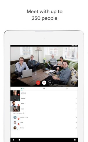 Google Meet – Secure video meetings 2021.04.18.369492438.Release Screen 3