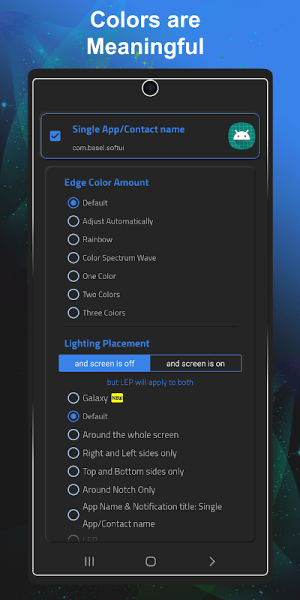 Always On Edge - LED light & AOD & Wallpapers 5.9.3 Screen 11
