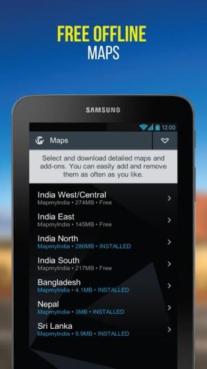 NaviMaps: 3D GPS Navigation 3.0.0 Screen 5
