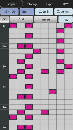 Android Beat Maker - Drum Machine Screen 3