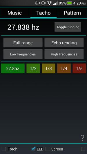 Strobily - strobe light 2.2.4 Screen 2