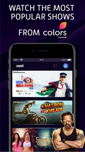 Voot Select Originals, Bigg Boss, MTV, Colors TV 4.0.7 Screen 6