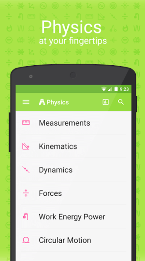 PhyWiz Notes (UNLOCKED) 2.1.0 Screen 2